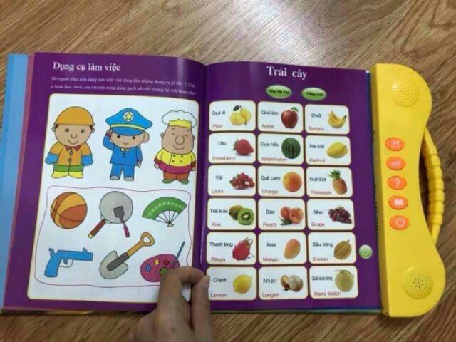 Sách song ngữ Anh - Việt cho trẻ