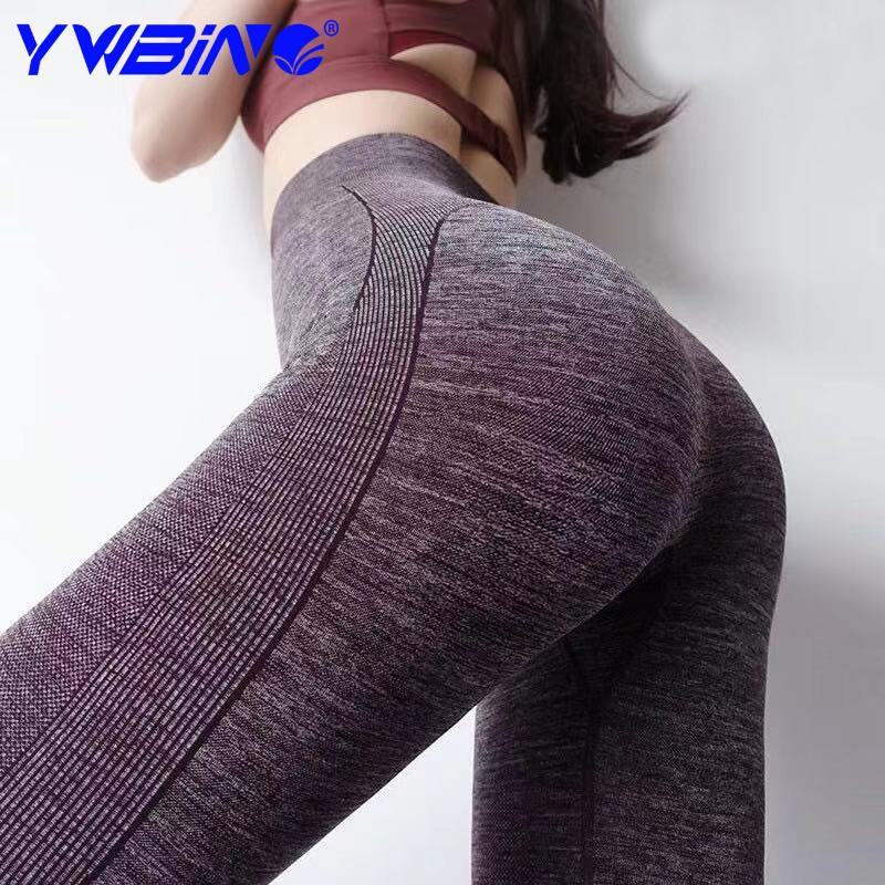 YWBIN Quần legging nữ tập thể dục thể thao ngoài trời, gym, yoga tập Quần yoga khô nhanh