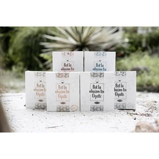Combo 2 hộp bột lá nhuộm tóc Ogatic các màu (NÂU, ĐEN, NÂU ĐỎ, XANH ĐEN) - 100% từ thảo dược thiên nhiên, không hóa chất thumbnail