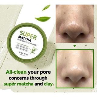 Hình ảnh Mặt nạ dưỡng da Some By Mi Super Matcha Pore Clean Clay Mask 100g-3