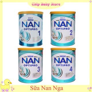 Mẫu Mới Sữa Nan Nga số 1,2,3,4 - 800gr (date T12 2021) thumbnail
