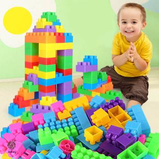 80pcs/250pcs DIY Educational Assemble Building Blocks Figures Model Bricks for Kids Toys Gifts