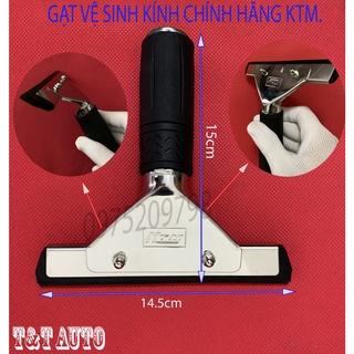 Gạt dán film cách nhiệt vệ sinh kính thương hiệu KTM chính hãng chất lượng (cao su 2 lớp màu đen). thumbnail