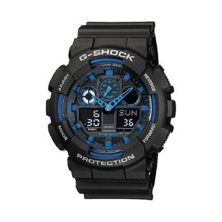 Đồng Hồ Nam Casio G-Shock GA-100-1A2DR Chính Hãng - Dây Nhựa G-Shock GA-100-1A2 thumbnail