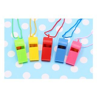 Combo 10 còi thổi nhiều màu cho bé