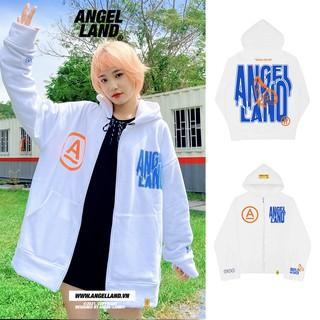Áo khoác Angel-Land Flying zip-white chính hãng thumbnail