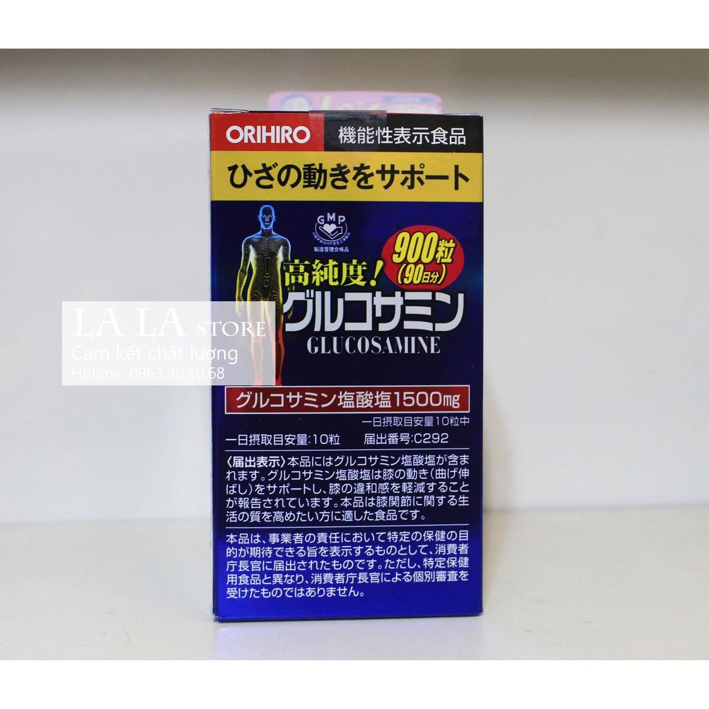 Viên Uống Glucosamine Orihiro 1500mg Của Nhật 900 viên
