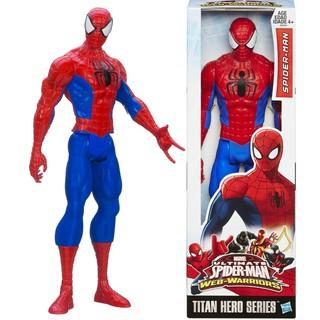 Đồ chơi mô hình siêu anh hùng Marvel người nhện Spider Man cao 30cm