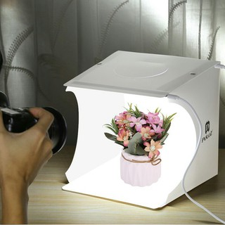 [BH 3 Th✔️] Hộp Chụp Hình Ảnh Sản Phẩm Có Đèn Led Ánh Sáng Trắng Puluz 22*23*24 – Diệu Linh Shop