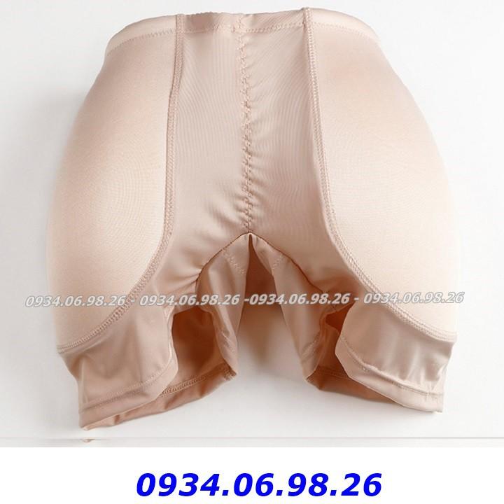 Quần độn mông và hông dạng đùi 3 trong 1 - Quần độn mông nữ cao cấp mút liền nâng...