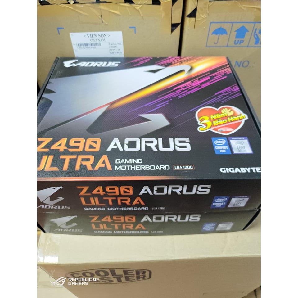 Mainboard Gigabyte Z490 AORUS ULTRA