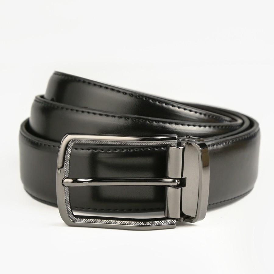 [Hoài Duy Shop] Thắt lưng nam da bò 4U cao cấp T132 (đen) [Cam kết chất lượng]