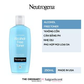 Nước cân bằng da không cồn Neutrogena Alcohol-Free Toner ( 250mL ) thumbnail