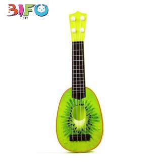Đàn guitar mini giúp bé phát triển tài năng âm nhạc (hình kiwi)