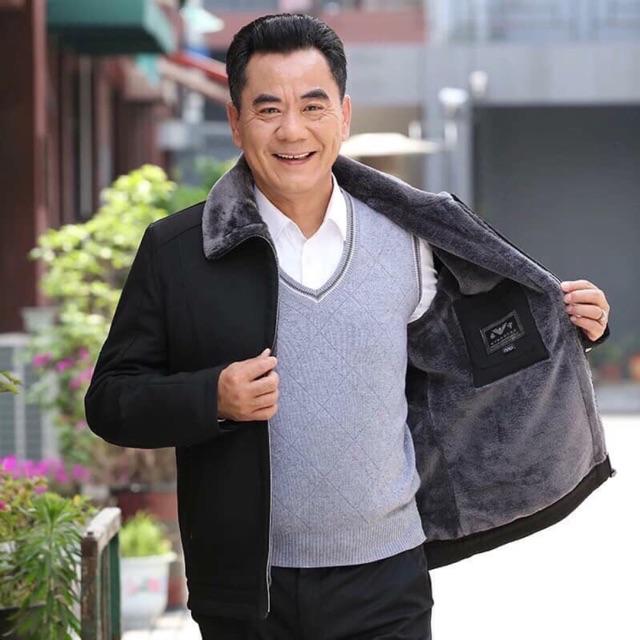 Áo lót lông cho bố order Taobao