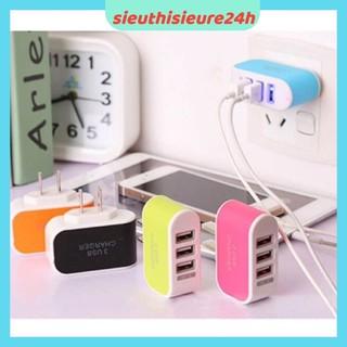 CỦ SẠC ĐA NĂNG ❤️FREESHIP❤️ Củ sạc 3 Cổng USB (Bảo hành 1 tháng)