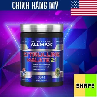 Citrulline Malate Allmax Citrulline Malate [300g] - Tăng Sức Mạnh Sức Bền - Chính Hãng The Shape thumbnail