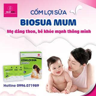 [Viện sản Hà Nội] Cốm lợi sữa biosuamum - Sữa về tràn trề sau 3-5 ngày - Tăng cường chất lượng sữa mẹ- 20 gói x 3g thumbnail