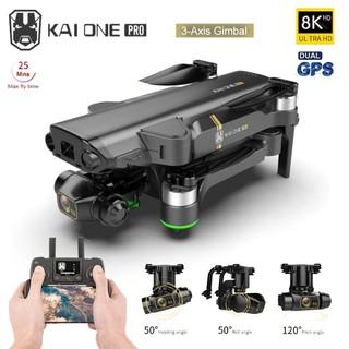 Flycam YLRC KAI ONE PRO 8K Camera 3 Trục Gimbal + EIS GPS 5G Wifi Động Cơ Không Chổi Than Bay 25 PHÚT