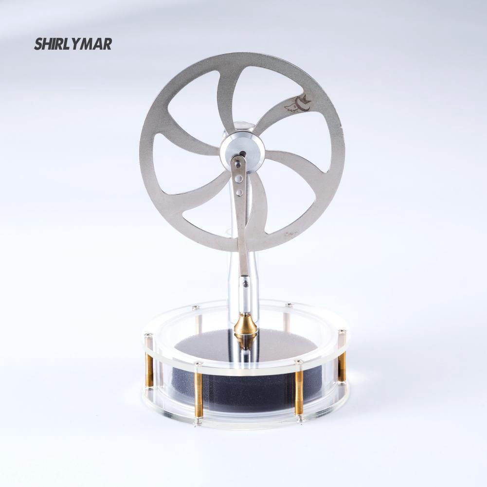 ஐSr QX-DW-70-02 Low Temperature Stirling Engine Model Heat Steam Education Toy