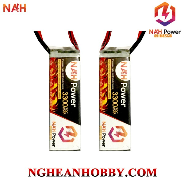 Pin Lipo NAH Power 3S 3300mAh 70C
