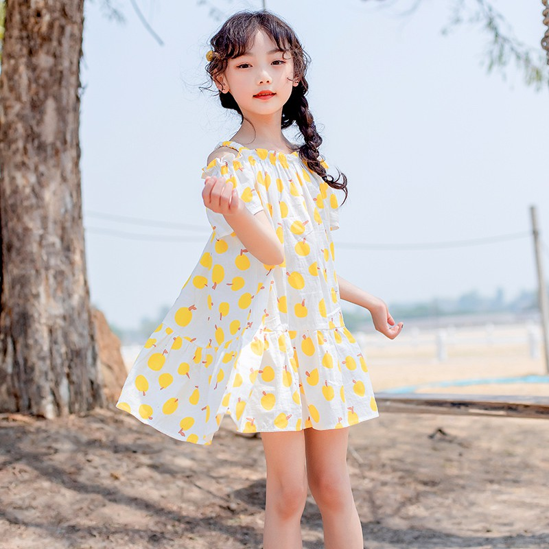 đầm 2 dây in hoa cho bé gái - 14846334 , 2517854591 , 322_2517854591 , 618800 , dam-2-day-in-hoa-cho-be-gai-322_2517854591 , shopee.vn , đầm 2 dây in hoa cho bé gái