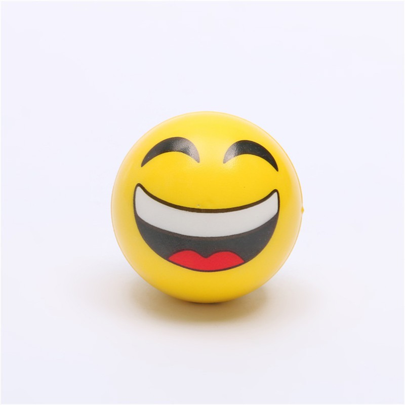 [BEW] 6.3cm Stress Ball Novetly Squeeze Ball Exercise Stress Ball PU Rubber Toy [OL]