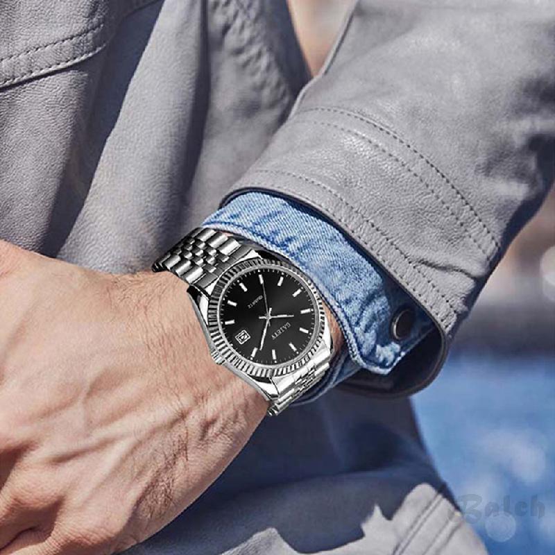 Cod แฟชั่นเกาหลีธุรกิจย้อนยุคฮาราจูกุนาฬิกาผู้ชาย 495
