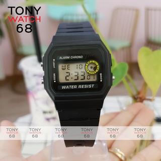 Đồng hồ điện tử nam nữ SK huyền thoại F-94WA-9DG dây cao su đen chống nước chính hãng Tony Watch 68 thumbnail