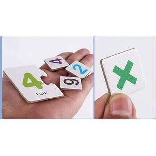 SỈ Dụng Cụ Học Toán Hộp Thẻ Ghép Số Và Que Tính Giúp Bé Học Toán