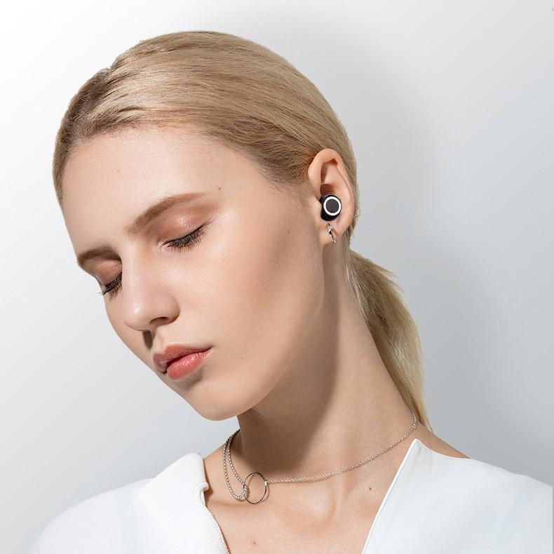 [NGUYÊN SEAL] Tai Nghe Bluetooth Thể Thao TWS 8D DT-2 thế hệ mới 2019 - Bluetooth 5.0 Mới Nhất - Dock Sạc Xịn