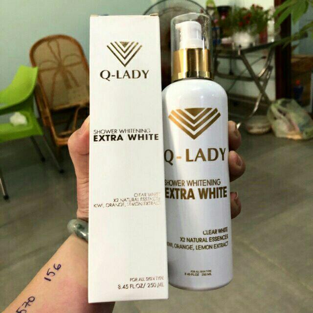 1TẶNG1_Sữa tắm tryền trắng Q-LADY