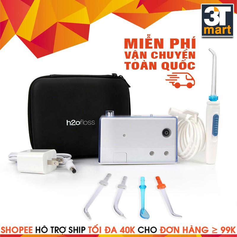 Máy tăm nước du lịch không dây mini h2ofloss HF-3 Premium - 2918135 , 145069249 , 322_145069249 , 999000 , May-tam-nuoc-du-lich-khong-day-mini-h2ofloss-HF-3-Premium-322_145069249 , shopee.vn , Máy tăm nước du lịch không dây mini h2ofloss HF-3 Premium