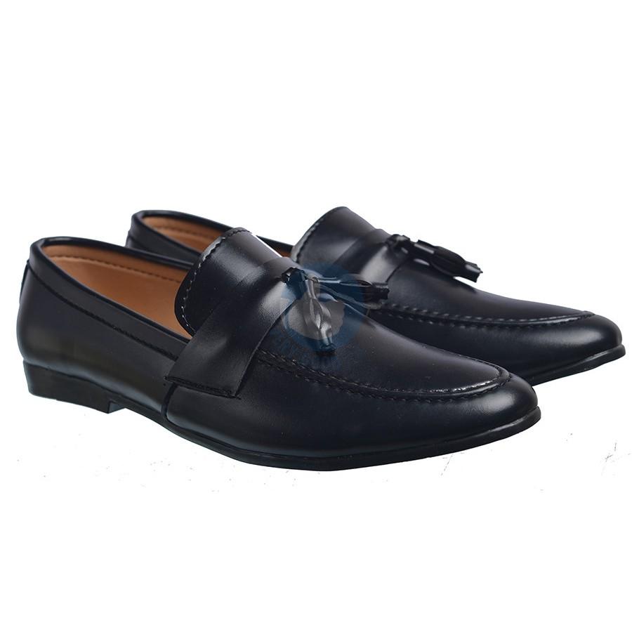 Giầy lười nam dây chuông MS5 , giày tây nam lịch lãm