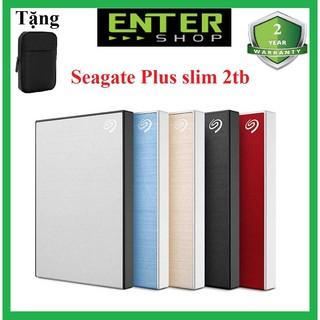 Ổ cứng di động 2Tb Seagate Backup Plus Usb 3.0 Tặng túi đựng