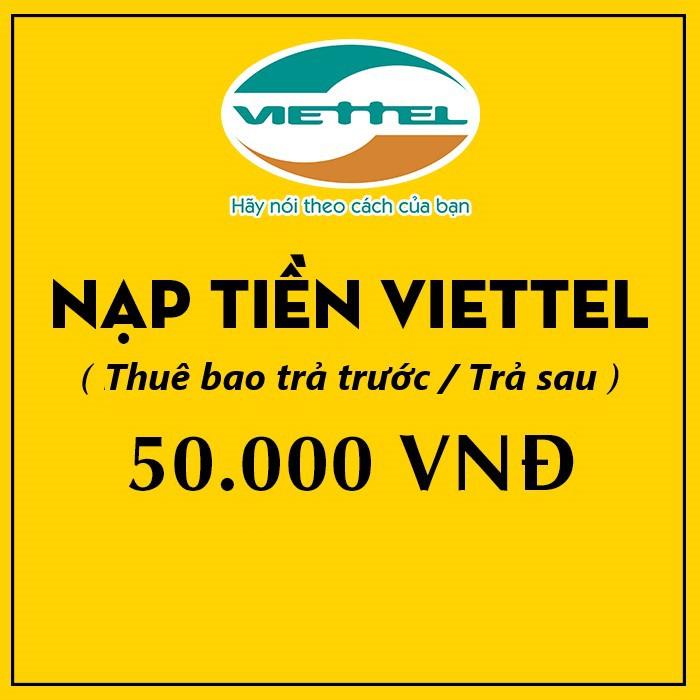 Thẻ Điện Thoại Viettel 5