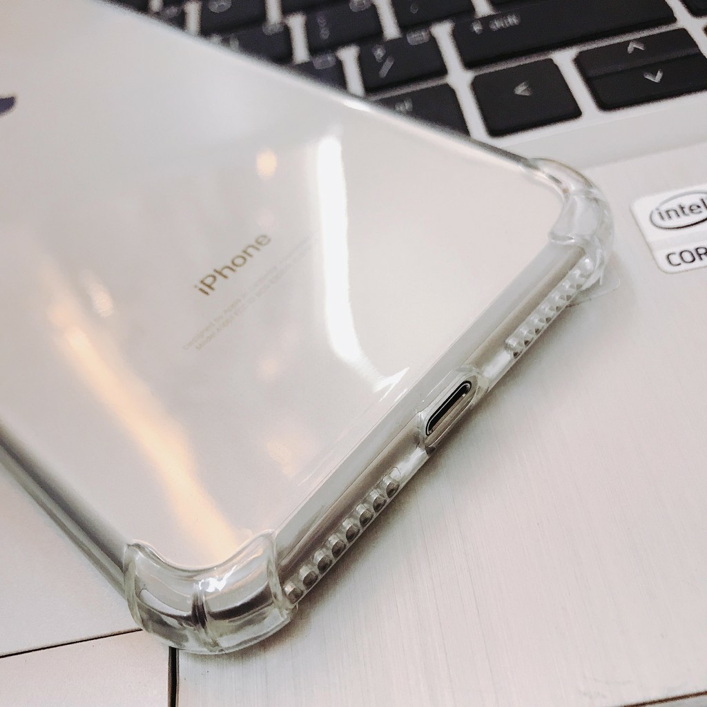 Ốp trong suốt chống sốc IPhone 6 đến 11 pro max