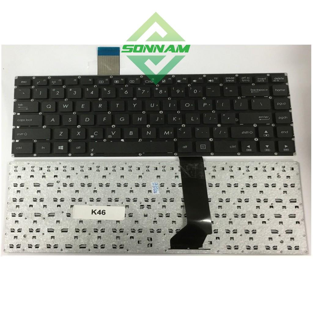 [Nhập ELCL30K hoàn 30K xu]Bàn phím laptop Asus Vivobook K46 K46CB K46CM K46E hàng nhập khẩu – bảo hành đổi mới uy tín Giá chỉ 115.000₫