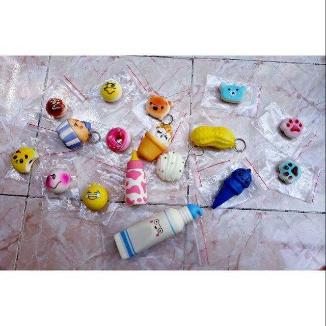 Combo squishy Thanh lý giá rẻ 240k (kèm quà tặng + bao bì)