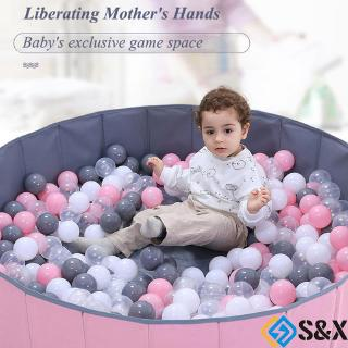 Foldable Dry Pool Infant Ball Pit Ocean Ball Playpen Ball Pool Playground Toy