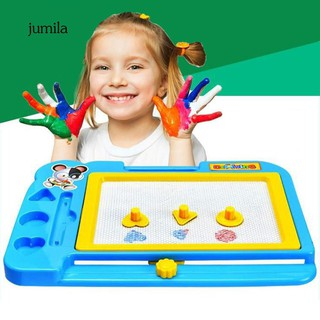 JL_Erasable Drawing Board Doodle with Pen and Stamper for Kids Child