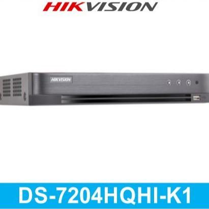 Đầu ghi hình Hikvision HD-TVI DS-7204HQHI-K1(S) 4 kênh (H.265+)