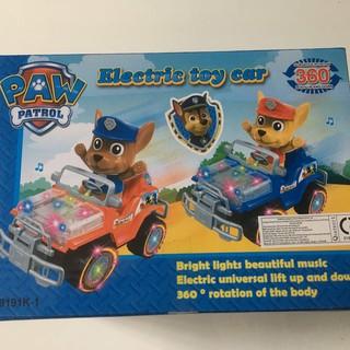 Đồ chơi trẻ em Electric toy car Chó cưú hộ lái xe jeep bánh xe có đèn Sử dụng pin mã(9191K1)Phù hợp cho bé 3 tuổi 5 tuổi
