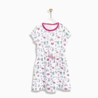 Áo đầm M.D.K Thắt Eo - Flamingo. M.D.K