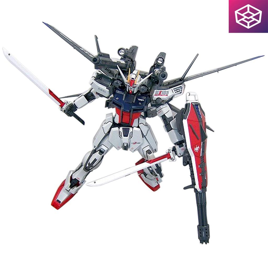 Mô Hình Lắp Ráp Bandai MG Strike Gundam + IWSP