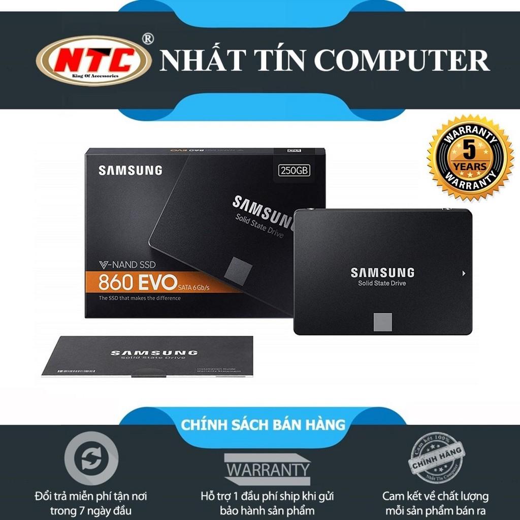 Ổ cứng SSD Samsung 860 Evo 250GB 2.5-Inch SATA III-box Anh
