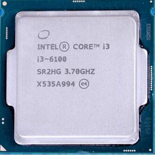 CPU Intel Core i3 6100 3.7 GHz I3-6100 Socket 1151