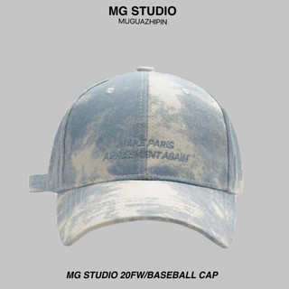 Mũ Lưỡi Trai MG STUDIO Thiết Kế Màu Loang Cá Tính