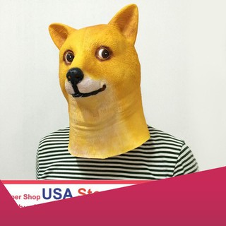 [SỈ HN] Mặt nạ chó Hóa Trang Chó Nhật (USA) Dđậu nành