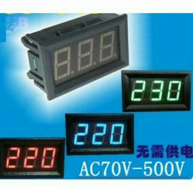 Đồng hồ đo Vôn (Volt) dùng cho ắc quy Ô tô, xe máy - 2430615 , 195042185 , 322_195042185 , 68000 , Dong-ho-do-Von-Volt-dung-cho-ac-quy-O-to-xe-may-322_195042185 , shopee.vn , Đồng hồ đo Vôn (Volt) dùng cho ắc quy Ô tô, xe máy